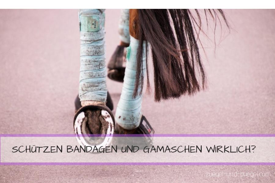 Bandagen und Gamaschen – mehr Schaden wie Nutzen?