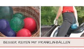 Franklin-Bälle Reiten